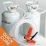 Spray Foam Insulation Quick Cure 200 kit