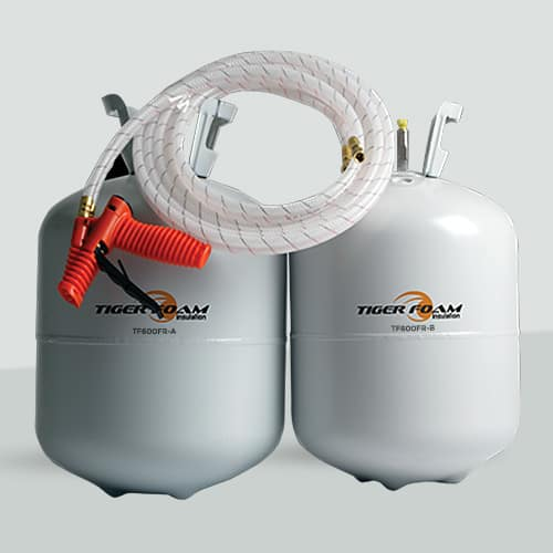 Tiger Foam Spray Foam Insulation Kit Tf 600fr