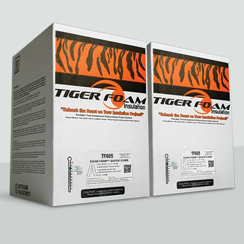 Tiger Foam Spray Foam Insulation Kit Tf605