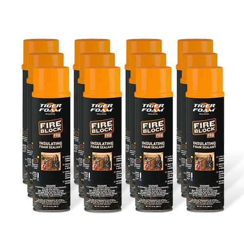 Tiger Foam™ Fire Block Pro 24oz Foam Sealant