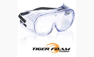 Spray Foam Safety Goggles