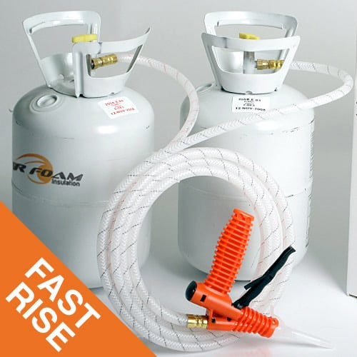 Spray Foam Insulation Fast Rise 200 kit