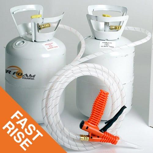 Spray Foam Insulation Fast Rise 200 kit
