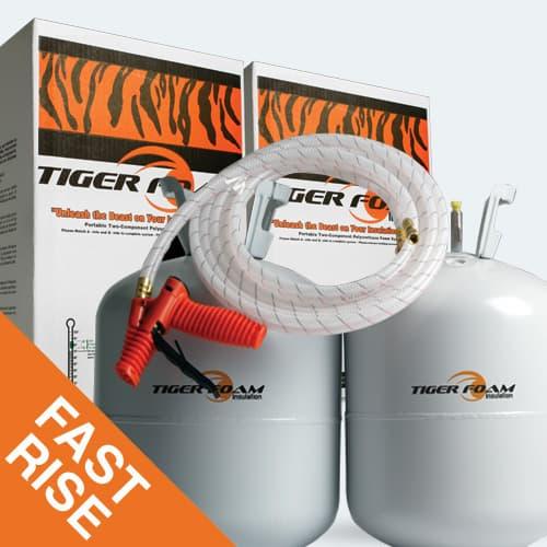 Tiger foam spray foam insulation order kits spray foam insulation fast rise 600 kit solutioingenieria Images