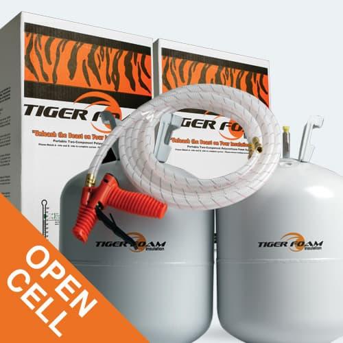 Spray Foam Insulation Open Cell 600 kit