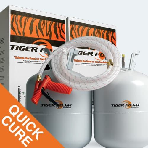 Spray Foam Insulation Quick Cure 600 kit