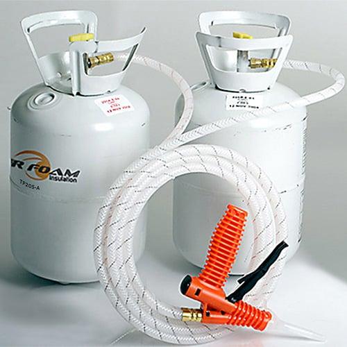Tiger Foam Quick Cure 200 Board Foot Spray Foam Insulation Kit