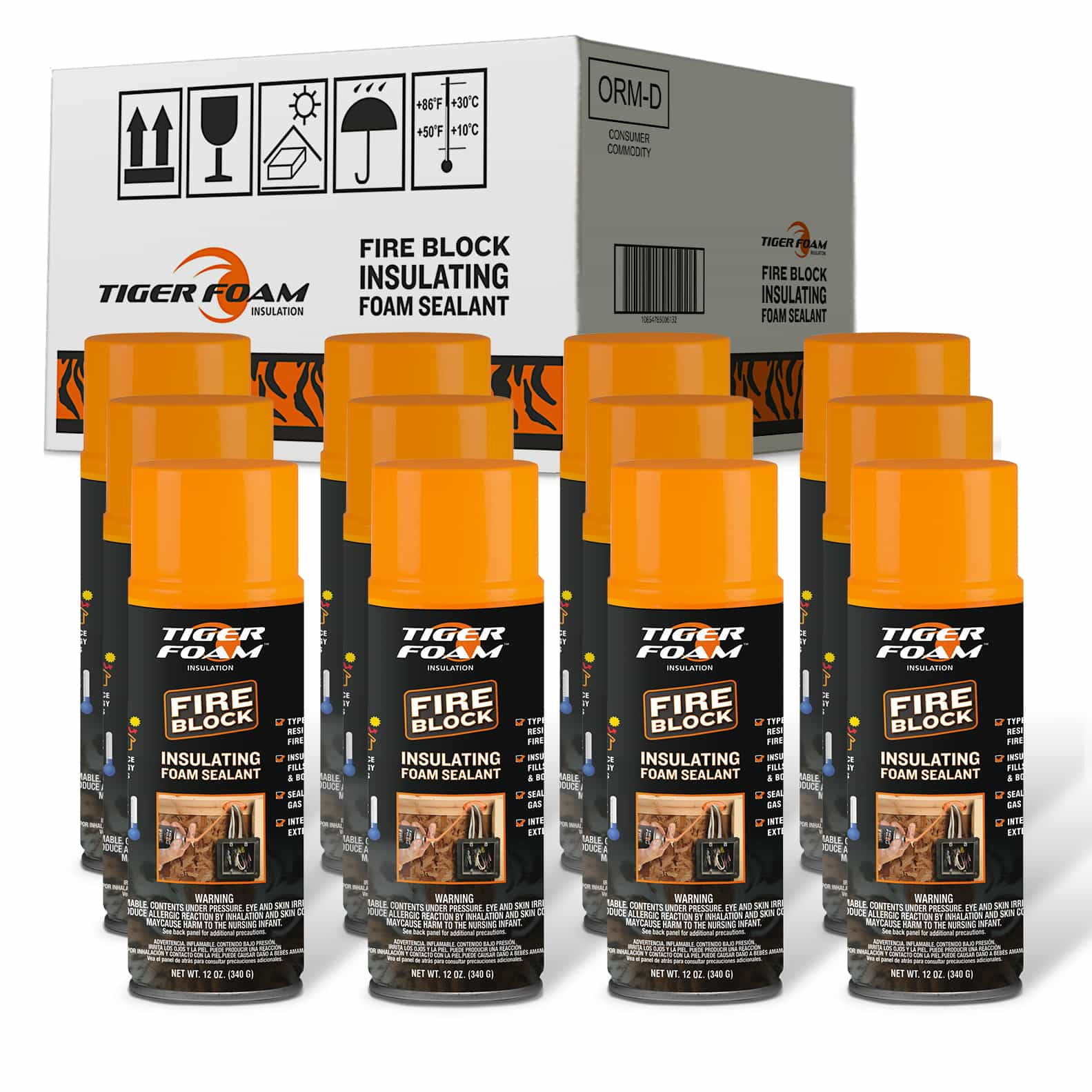 Tiger Foam™ Premium Spray Foam Insulation And Sealants
